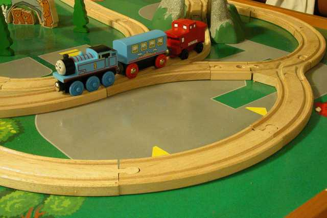 Stop Motion Thomas (the tank engine)